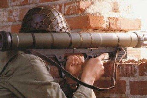 Бойовики обстріляли з ручних гранатометів Травневе
