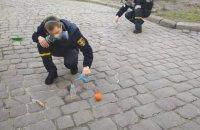 В центре Львова неизвестные разлили более килограмма ртути
