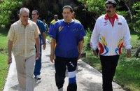 Уго Чавес читает в больнице «Так говорил Заратустра» и рассказывает дочерям, как проходит лечение