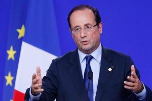 Олланд: криза єврозони наближається до завершення