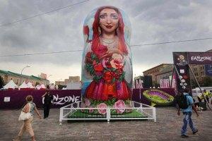 Харківську фан-зону Євро-2012 відкрили для відвідувачів