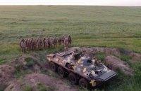 Прикордонники відпрацювали захист узбережжя Азовського моря від вторгнення ворожого десанту