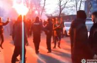 Проти учасників бійки з поліцією в Черкасах відкрито кримінальну справу за двома статтями (оновлено)