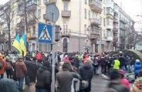 Турчинов: правительственный квартал полностью под контролем демонстрантов