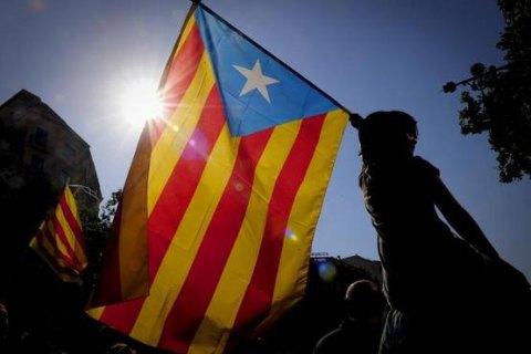 ВБарселоні відбулася багатотисячна акція на підтримку референдуму про незалежність