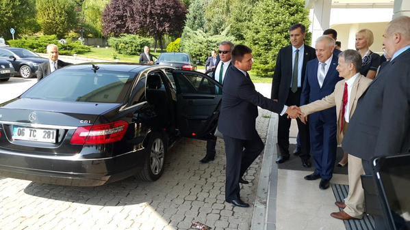 Глава МИД Украины прибыл в Анкару