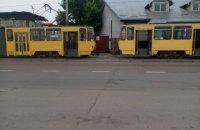 Водители трамваев во Львове ночевали в вагонах