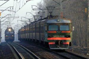 На Львівщині електричка зійшла з рейок