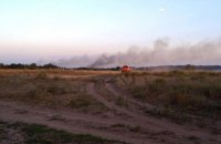В Полтавской области второй день горят торфяники