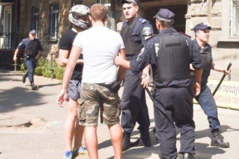 """За напад на ЛГБТ-активістів в Одесі затримували 13 """"свободівців"""""""
