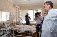 Янукович після лікарняного вийде на роботу 3 лютого