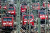 У Німеччині страйк залізничників зупинив 90% потягів