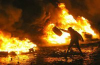 Силовики на Грушевского снова попытались оттеснить митингующих