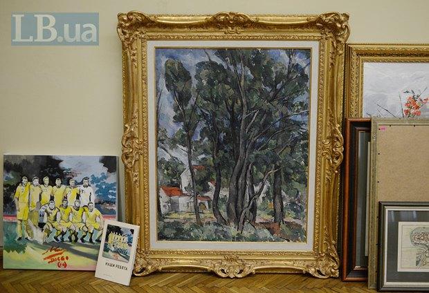 Ця картина дуже схожа на твір П. Кончаловського