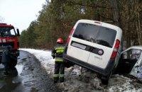 В автокрушении в Хмельницкой области пострадала женщина