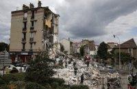 В пригороде Парижа рухнул дом, погибли два человека