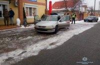 Военный с гранатой пытался ограбить АЗС в Киевской области