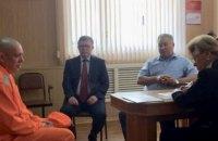 Политзаключенного Штыбликова в Омске посетил консул и омбудсмен РФ
