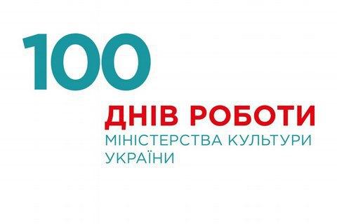 Євген Нищук відзвітував про сто днів своєї роботи на посаді міністра культури