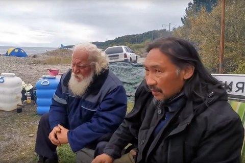"""Якутського шамана, який відправився в Москву """"виганяти Путіна"""", затримала поліція"""