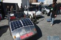 Владельцы электрокаров установили в Киеве рекорд Украины