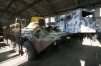 Армия сдавала на металлолом за 10 тыс. грн корпуса БТР стоимостью 1,2 млн
