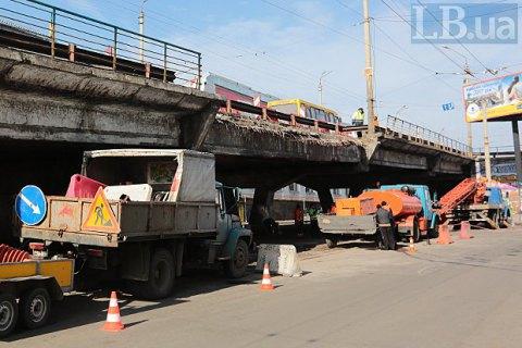 УКличко поведали о 7-ми вариантах реконструкции моста наШулявке
