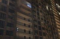 При пожаре в высотке на Печерске спасатели эвакуировали более 40 жильцов