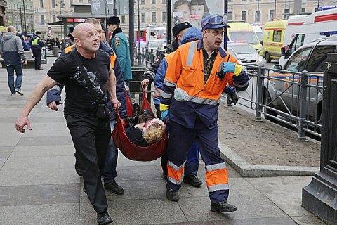 Число жертв теракта в Санкт-Петербурге возросло до 14