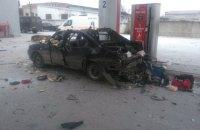 Автомобиль на газу взорвался во время заправки в Шостке