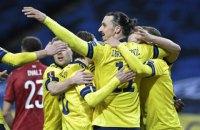 Ибрагимович установил рекорд сборной Швеции