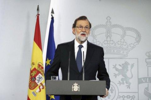 Уряд Іспанії розпустив парламент Каталонії