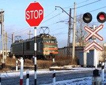 В 2011 году в ДТП на переездах Днепропетровщины погибло в 10 раз людей меньше, чем в 2010-м