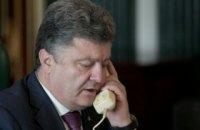 Порошенко провел телефонный разговор с Меркель