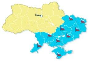"""Російську мову визнано регіональною мовою в """"Південно-Східній Автономії"""""""