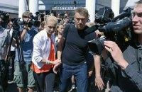 Навального отпустили на свободу