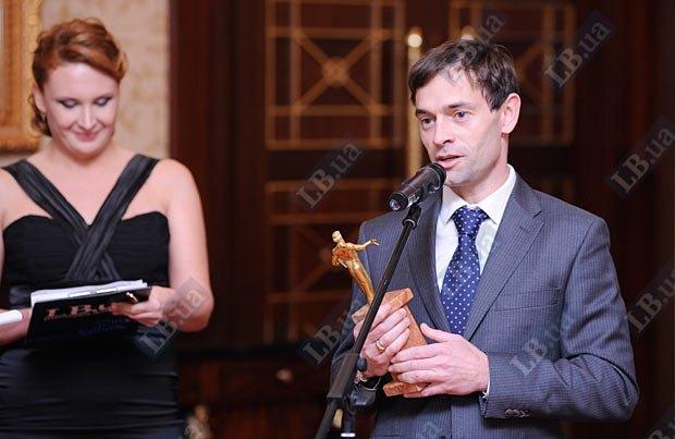 Первый секретарь посольства Франции в Украине Эммануэль Берар