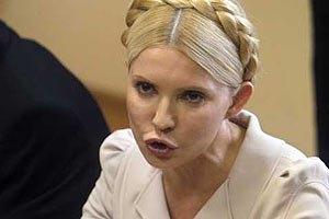 Второй арест Тимошенко не стали продлевать