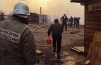 Площадь пожаров в Забайкалье за сутки увеличилась вдвое