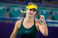 Свитолина обыграла россиянку Звонареву и вышла в третий раунд турнира в Абу-Даби