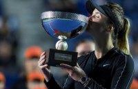 Світоліна виграла перший трофей з кінця 2018 року