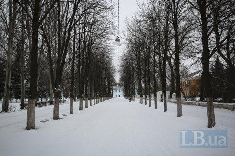 В ночь на субботу в Киеве до -9 градусов мороза