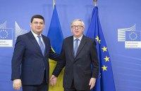 Еврокомиссия готова выделить Украине 600 млн евро