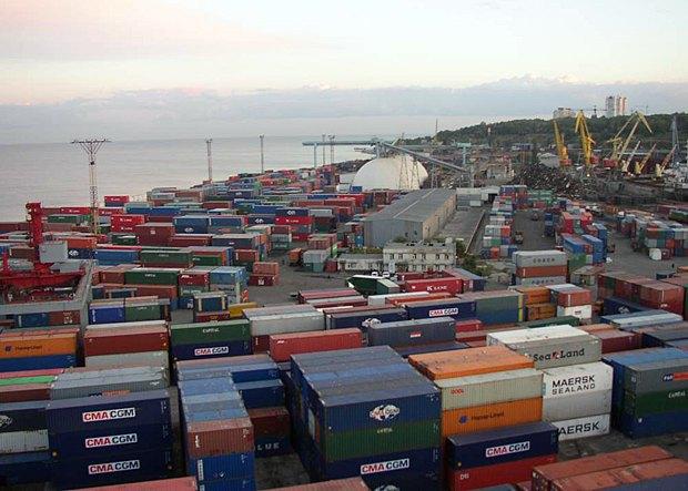 Перевалка и хранение грузов, Одесский порт