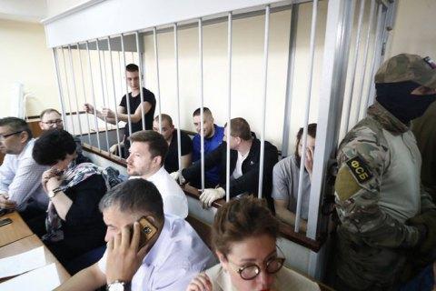 Московський суд залишив чинним арешт 24 українських військовополонених моряків