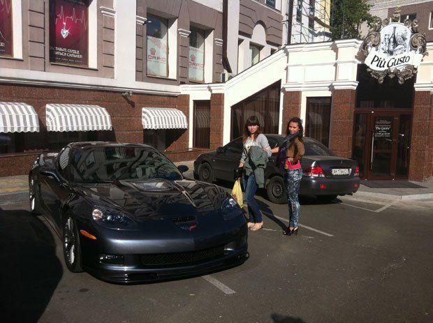 Авто старшего сына Януковича