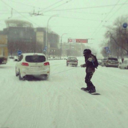 Киевляне не опускают руки и берут от жизни все