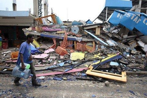 Кількість загиблих під час землетрусу в Еквадорі зросла до 350