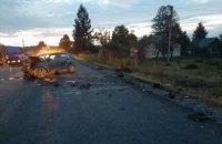 В лобовой аварии на Прикарпатье погибли двое маленьких детей