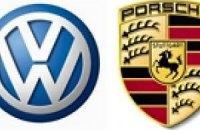 Автоконцерны Porsche и Volkswagen решили объединиться